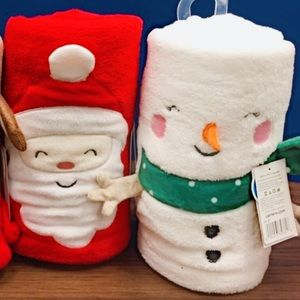 Carter's Accessories - ⛄️ Soft Snowman blanket 